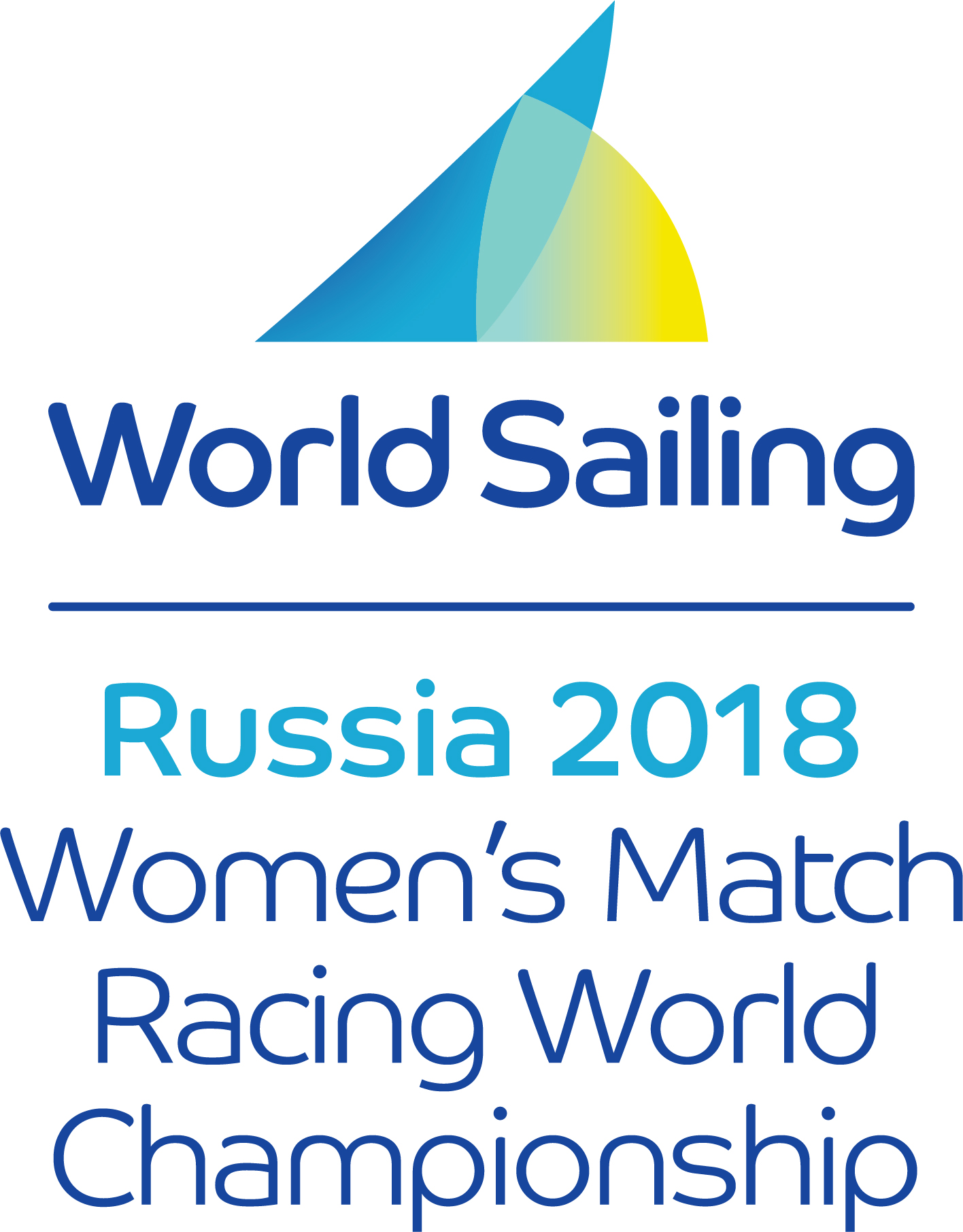 2018 Women's Match Racing World Championship logo