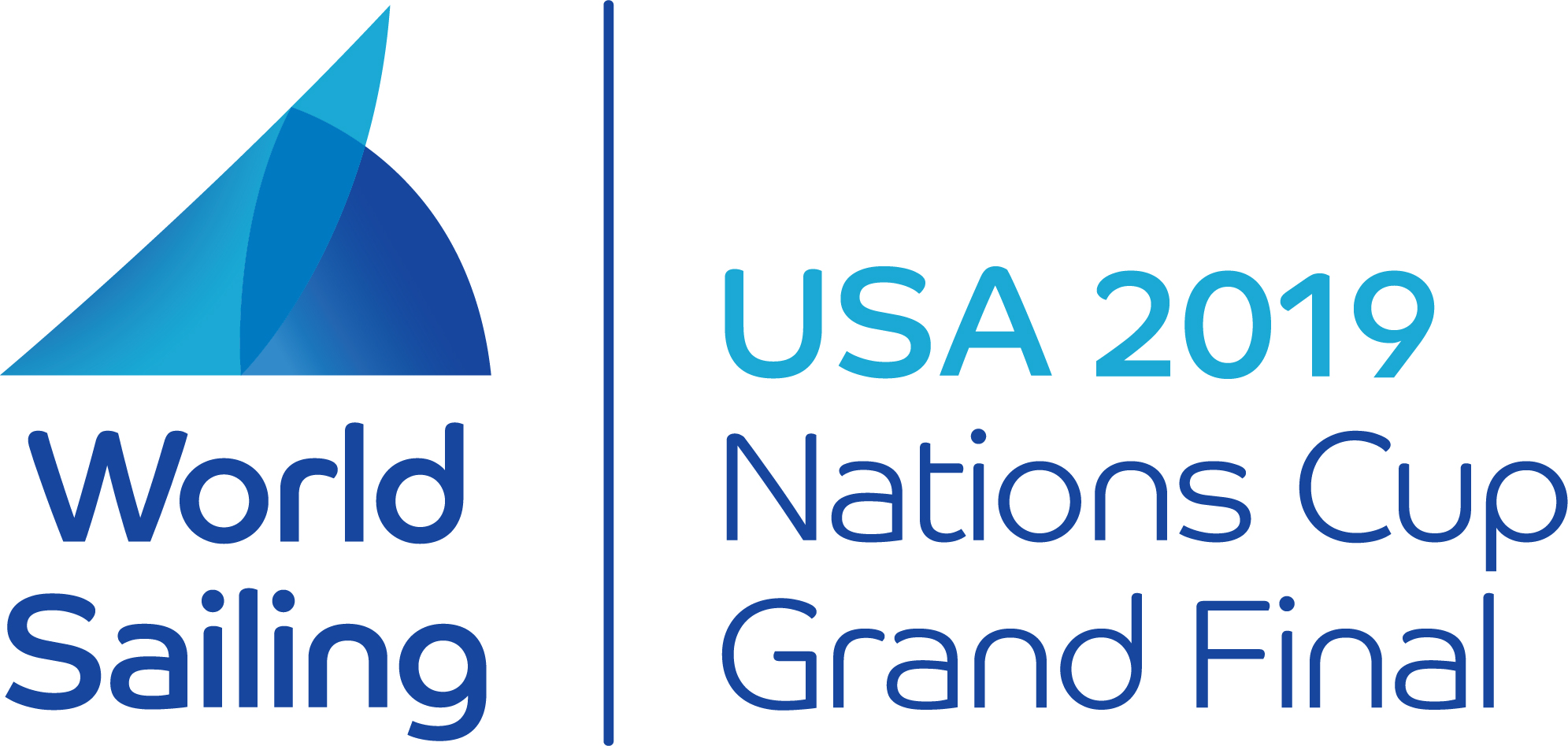 2019 World Sailing Nations Cup Grand Final - San Francisco, USA logo
