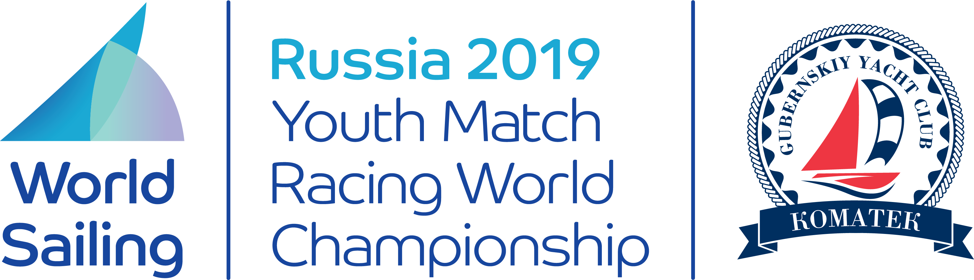 2019 Youth Match Racing World Championship logo