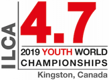 2019 Laser 4.7 Youth World Championships logo