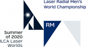 ILCA Laser Radial Men World Championship logo