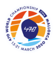 470 World Championships logo