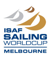 ISAF Sailing World Cup Melbourne logo